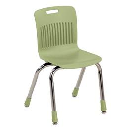 "Analogy Series Ergonomic School Chair (14\"" Seat Height) - Apple"