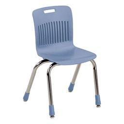 "Analogy Series Ergonomic School Chair (14"" Seat Height) - Blueberry"