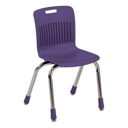 "Analogy Series Ergonomic School Chair (14"" Seat Height) - Purple Iris"