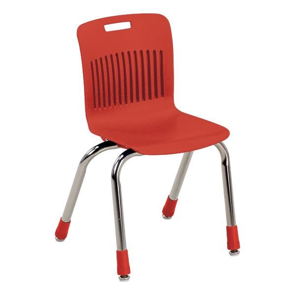 "Analogy Series Ergonomic School Chair (14"" Seat Height) - Red"