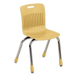 "Analogy Series Ergonomic School Chair (14"" Seat Height) - Squash"