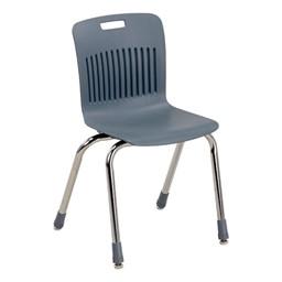 "Analogy Series Ergonomic School Chair (16"" Seat Height) - Graphite"