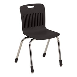 "Analogy Series Ergonomic School Chair (16"" Seat Height) - Black"