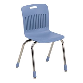 Analogy Series Ergonomic School Chair - Blueberry