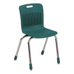 Analogy Series Ergonomic School Chair - Forest Green