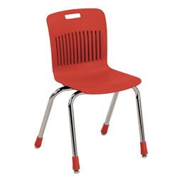Analogy Series Ergonomic School Chair - Red