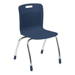 "Analogy Series Ergonomic School Chair (18"" Seat Height) - Navy"