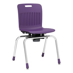 "Analogy Series Choose-to-Move School Chair (18"" H) - Purple"