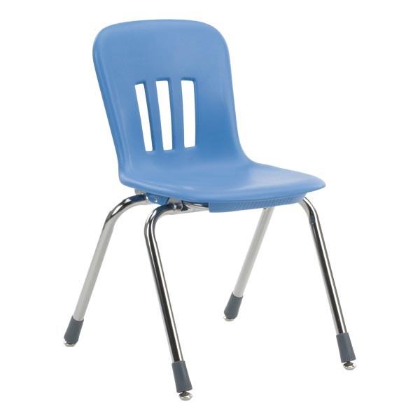 blue school chair. Current Image. Metaphor School Chair Blue L