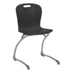 Sage Cantilever Chair - Black