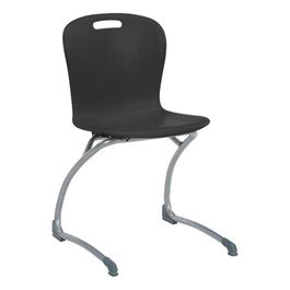Sage Cantilever Chair - Black