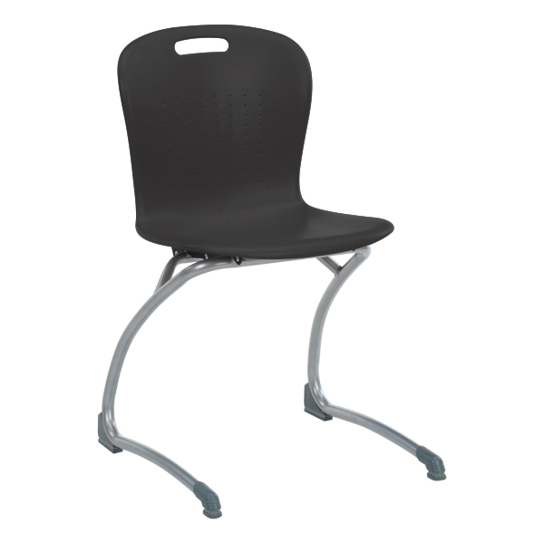 Sage Cantilever Chair   Black
