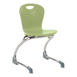 Zuma Cantilever School Chair - Apple