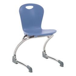 Zuma Cantilever School Chair - Blueberry