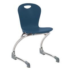 Zuma Cantilever School Chair - Navy