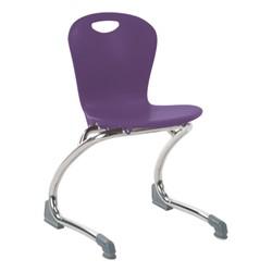 Zuma Cantilever School Chair - Purple Iris