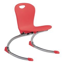 """Zuma Rocker Chair (13"""" Seat Height) - Red"""
