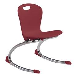 "Zuma Rocker Chair (13"" Seat Height) - Wine"