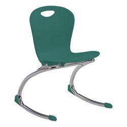 """Zuma Rocker Chair (15"""" Seat Height) - Forest Green"""