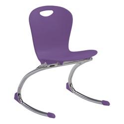 "Zuma Rocker Chair (15"" Seat Height) - Purple Iris"