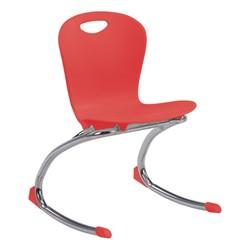 """Zuma Rocker Chair (15"""" Seat Height) - Red"""
