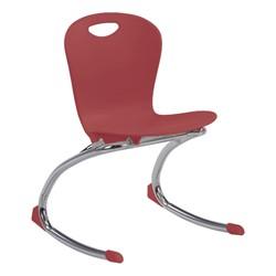 "Zuma Rocker Chair (15"" Seat Height) - Wine"