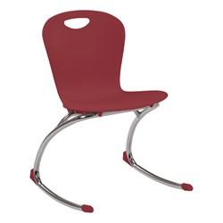 "Zuma Rocker Chair (18"" Seat Height) - Wine"
