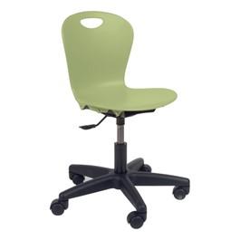"Zuma Keyboarder Stool (14\"" - 17\"" Adjustable Seat Height) - Green apple"