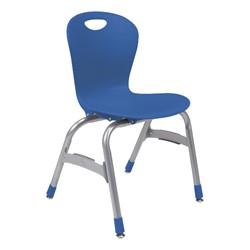"""Zuma Stack Chair (15"""" Seat Height) - Cobalt"""
