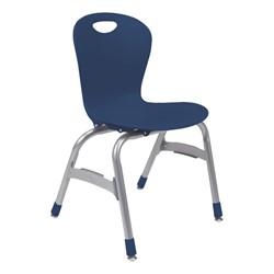 "Zuma Stack Chair (15"" Seat Height) - Navy"