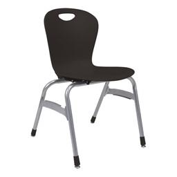 Zuma Stack Chair - Black
