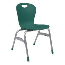 Zuma Stack Chair - Forest green
