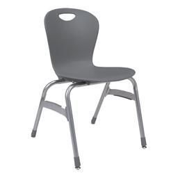 Zuma Stack Chair - Graphite