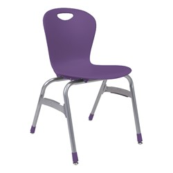 Zuma Stack Chair - Purple iris