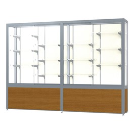 "Challenger 1000 Series Display Case - 96"" Wide"