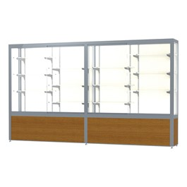 "Challenger 1000 Series Display Case - 120"" Wide"