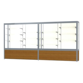 "Challenger 1000 Series Display Case - 144"" Wide"