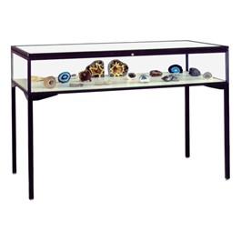 Keepsake Series Counter-Height Display Case - Shown w/ dark bronze frame