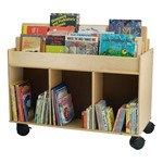 Two-Sided Library Cart