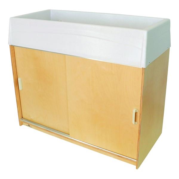 Changing & Storage Cabinet - Polyethylene Top
