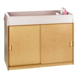 Changing & Storage Cabinet - Polyethylene Top