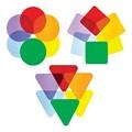 Color Wheel Acrylic Shapes