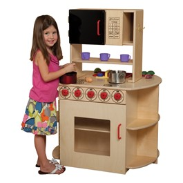 All-in-One Play Kitchen Center – Accessories not included