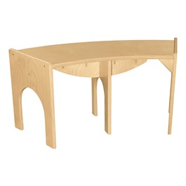 """Curved Bench - 36\""""W x 10\""""H"""