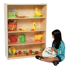 "Natural Bookshelf - 49\"" H"