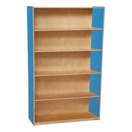 "Colorful Bookshelf - 59 1/2\"" H"