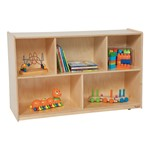 "Divided Shelf Storage (30"" H)"