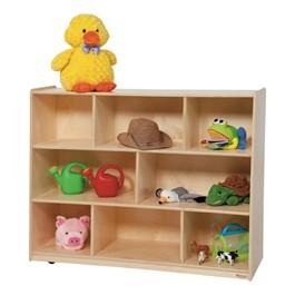 """Divided Shelf Storage (36\"""" H)"""