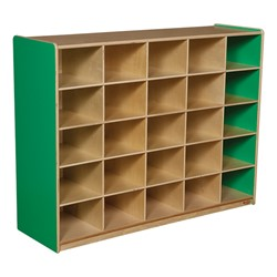 25-Tray Colorful Mobile Storage Unit w/o Trays - Green Apple