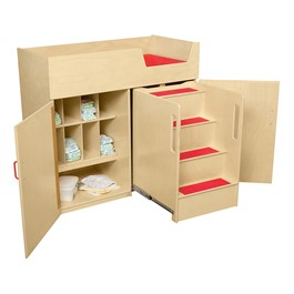 Deluxe Infant Care Center w/ Stairs
